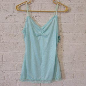 NWT Light Blue Teal Tank Top Size Small